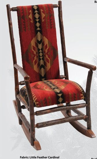 Rustic Hickory Rocking Chair Rustic Hickory Rocking Chair Item Id: TPD83200  Retail Price: $1,489.00