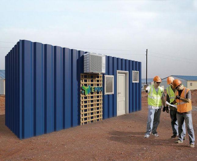 Eco Modul Home din Timişoara foloseşte containere martime fabricate la Viena, pe care le transformă în locuinţe confortabile.