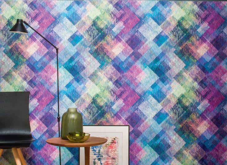 Beautiful multicoloured wallpaper! Discover more in: http://www.moyoconcept.com
