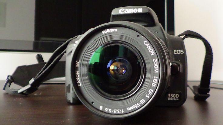 Digital single-lens reflex camera - Canon EOS 350D Digital - Production year: 2005