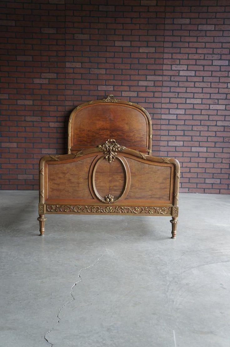 Antique French Twin Bed Twin Bed Frame French Provincial