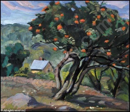 leopold savage art | SAVAGE Anne Douglas,Rowenberries (Beaubien House, Lake Wonish),Heffel ...