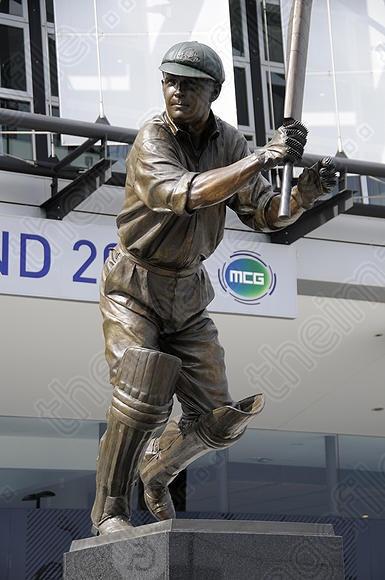 Australian cricket great Bill Ponsford at Melbourne Cricket Ground