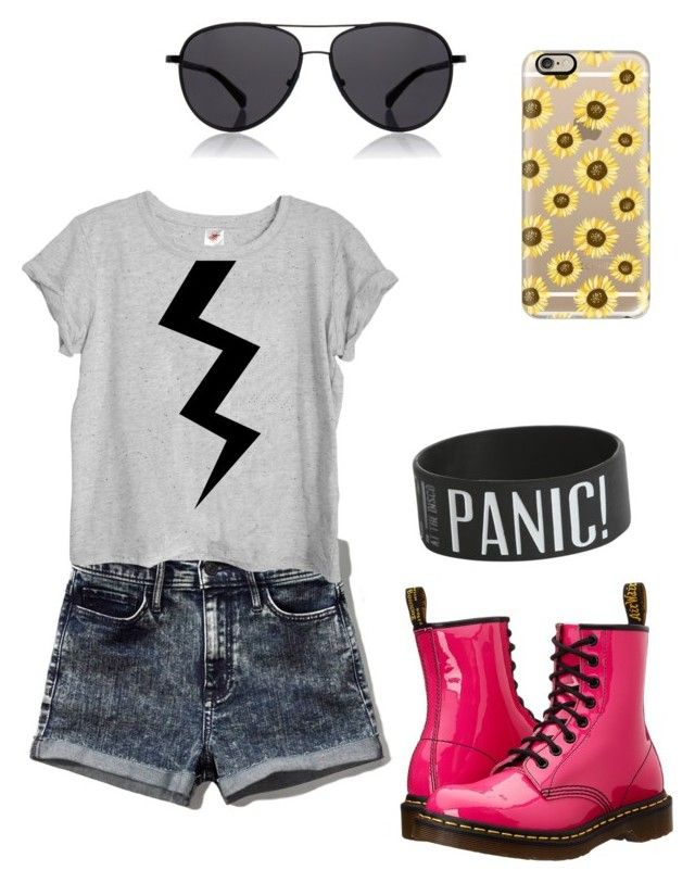 """""""Summer clothes"""" by vollyball on Polyvore featuring Abercrombie & Fitch, Dr. Martens, The Row, Casetify, women's clothing, women, female, woman, misses and juniors"""