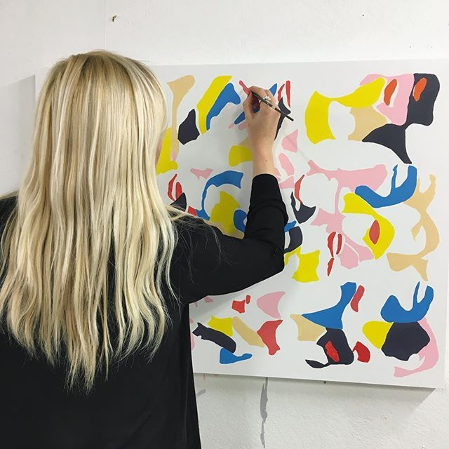 #hollyschroder #schroder #painting #art #contemporaryart #design