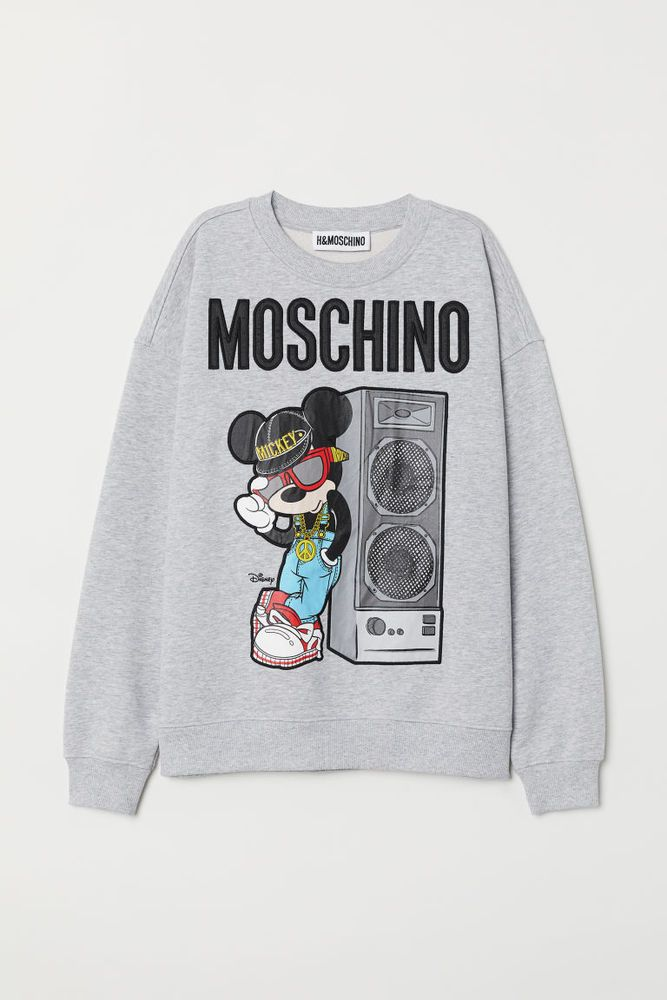 31fed1e19 MOSCHINO X H&M Grey Mickey Mouse Jumper Disney size XS in hand #fashion # clothing #shoes #accessories #womensclothing #sweaters (ebay link)