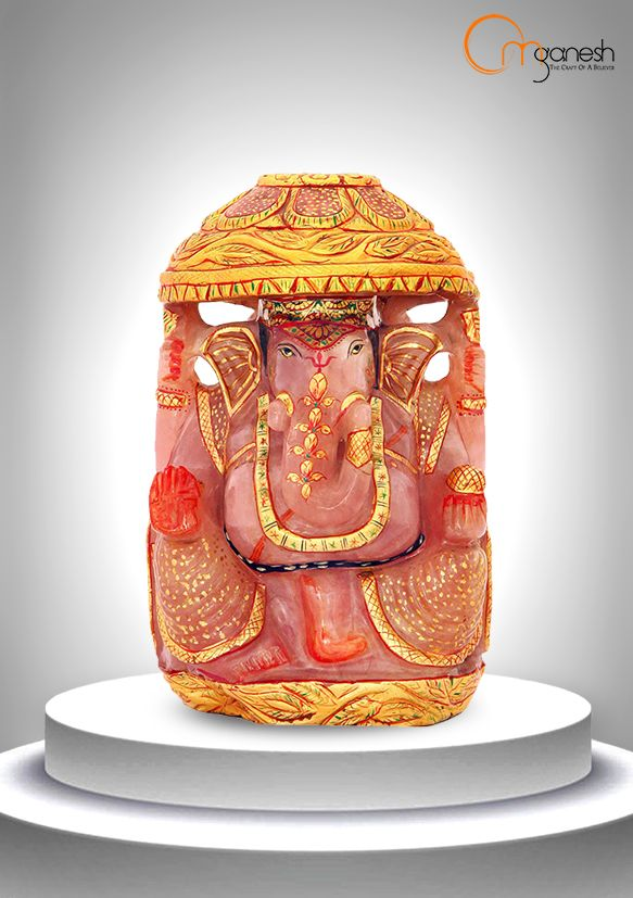 Stimulate your creativity in art, music & the written word with an ornate Ganesha idol by Om Ganesh Crafts.