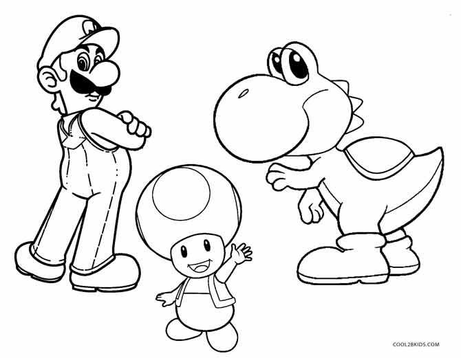 Yoshi Mario Coloring Pages Super Mario Coloring Pages Super Coloring Pages Mario Coloring Pages