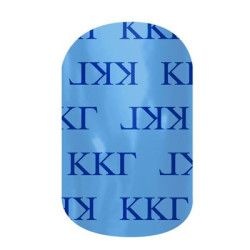 Kappa Kappa Gamma | Jamberry | Bond with your big or little with our officially-licensed Kappa Kappa Gamma nail wraps. Wear these wraps alone or pair them with Jamberry Professional Nail Lacquer in your sorority colors for spirit fingers that last. **Collegiate and Sorority designs can not be redeemed through host rewards, product credits, buy three get one free or any other special offer.