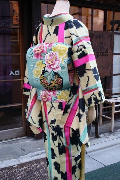 kimono and obi
