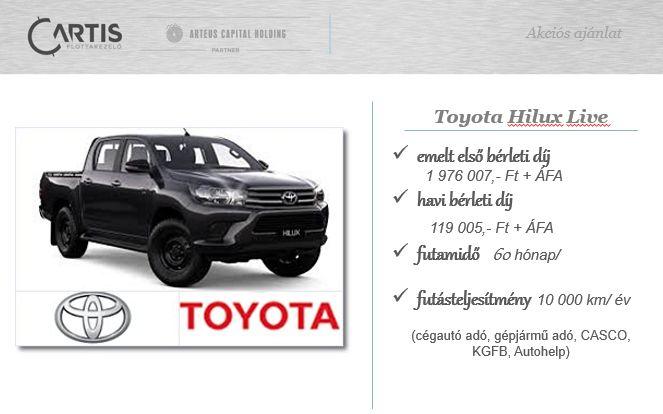 Toyota Hilux ajánlat