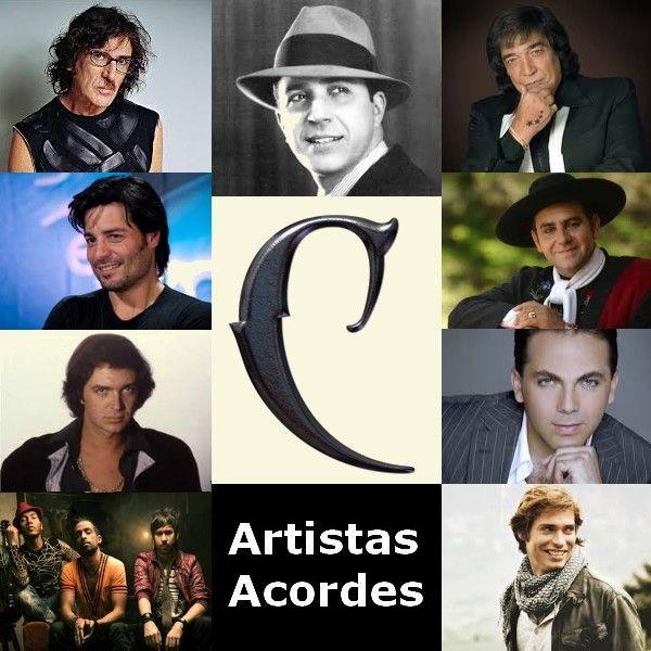 C (Lista de Artistas)  canciones con letras y acordes de guitarra y piano