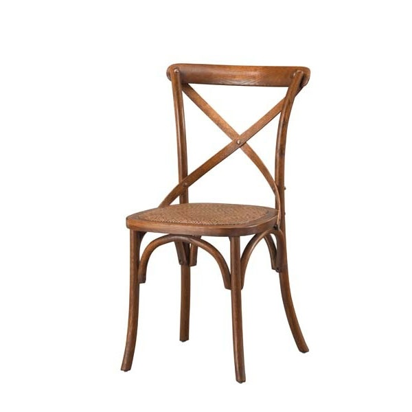 Thonet french 1920s oak bentwood cane rattan bistro chair vintage furniture dining - Cane bistro chairs ...