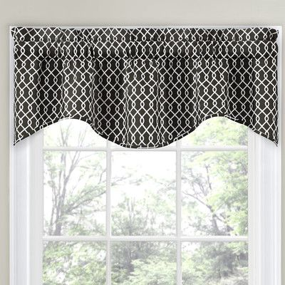 "Traditions by Waverly Ellis 56"" Curtain Valance & Reviews 