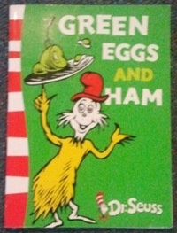 Green Eggs and Ham - #mylittlebookcase
