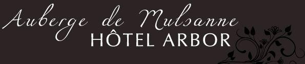 Logo hotel Arbor Mulsanne. Le Mans. France.