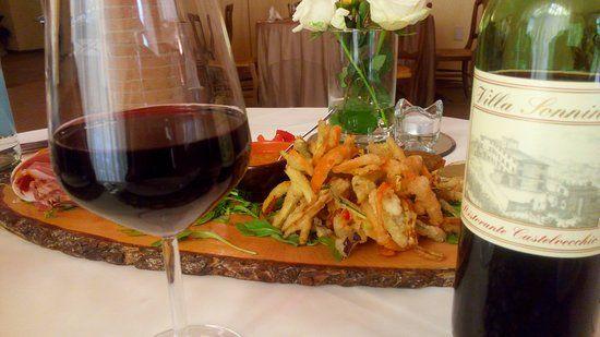 #antipasto #toscana #sanminiato #ristorante aperto tutte le sere a cena con menu' alla carta #tuscany #villasonnino