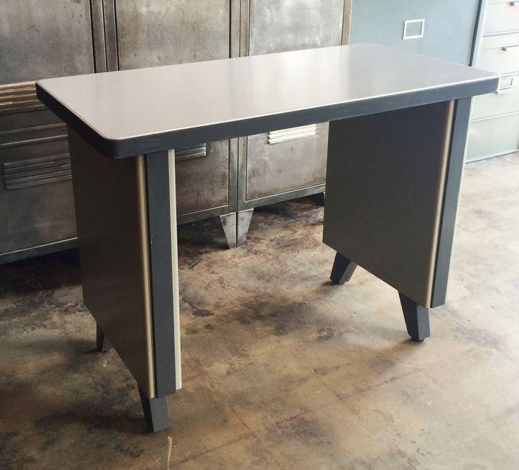 Vintage French Industrial Desk Industrielle Attitude 4763 Eagle Rock Blvd. Los  Angeles, CA 90041