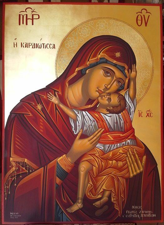 H Παναγία η Καρδιώτισσα, Virgin Mary