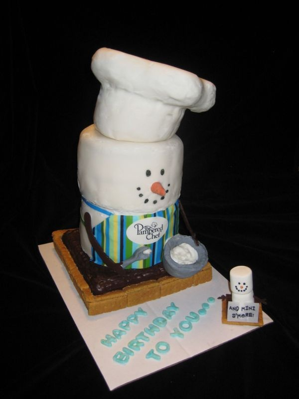 Cake Decorating Pampered Chef : S mores Cake Pampered Chef Pinterest Cakes ...