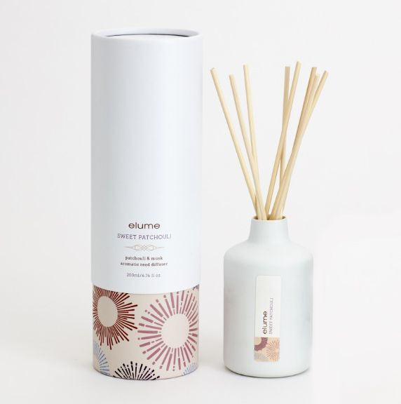 Elume, soy reed and candle.#Luxury#australianmade#melts#fragrance#tealights#fresh#soy#candles#diffuser#quality#shoplocal#thefragrancehall