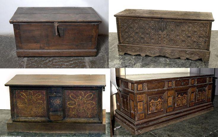 arcas siglos XVI-XVII