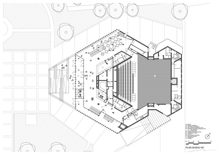 Gallery of Theatre Maurice Novarina Renovation/ WIMM - 21