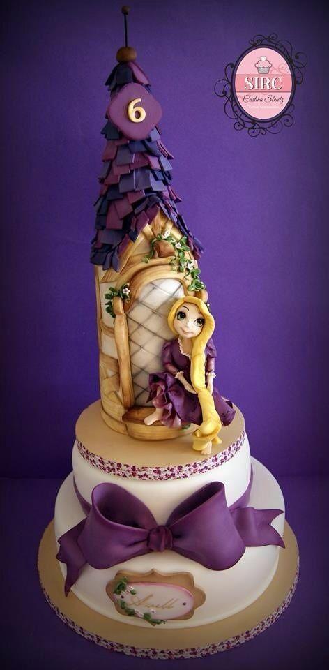Princess Rapunzel Cake