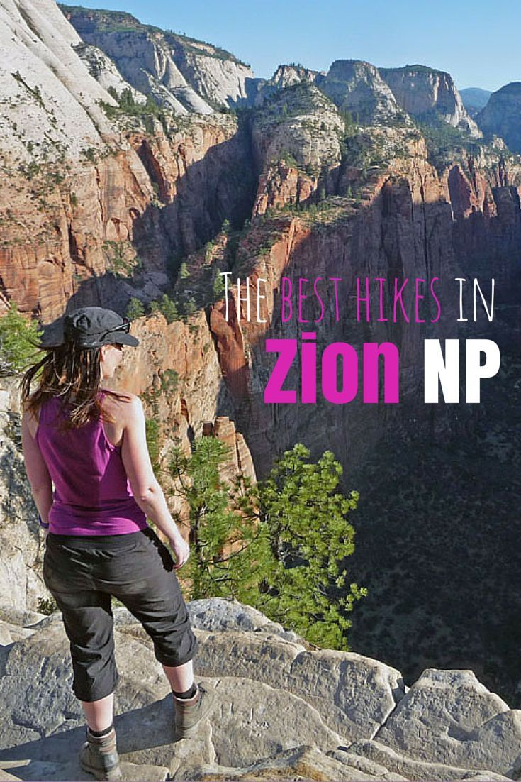 The Best Hikes In Zion National Park Utah Usa National