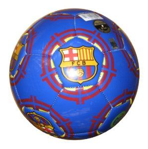 Barcelona Graphic Soccer Ball (size 5) by Rhinox. $23.20. A must have for Barcelona fans.. Intricate printing, featuring Barcelona Club Logo and Team Name. Official Size 5 Ball. Official Barcelona Merchandise. Officially licensed Barcelona merchandise.  Highly quality PVC cover. Perfect to display in any case or on any shelf.