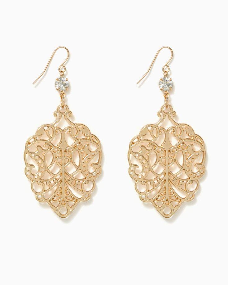 charming charlie | Saida Filigree Earrings | UPC: 410007429061 #charmingcharlie