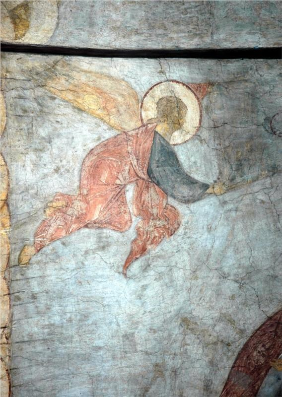 The Last Judgement: Angel, 1408			Andrei Rublev - by style - Byzantine