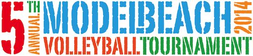 Model Beach Volleyball tournament Miami Beach
