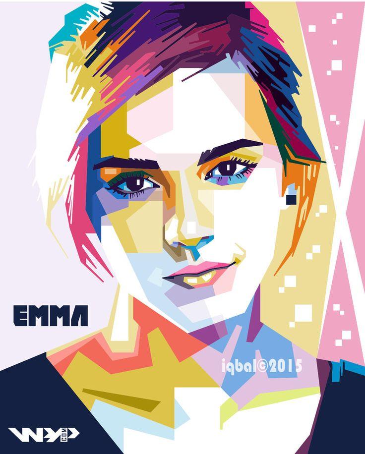 WPAP Emma Watson by iqbaldwi by iqbaldwi