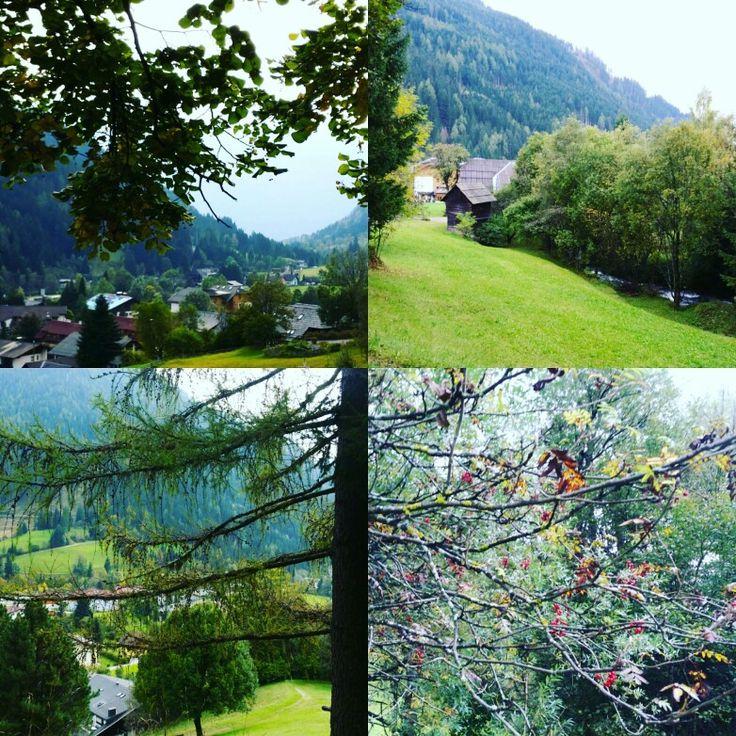 Herbst voller Farben und direkt vom Hotel Almrausch einen schönen Spaziergang starten   www.almrausch.co.at