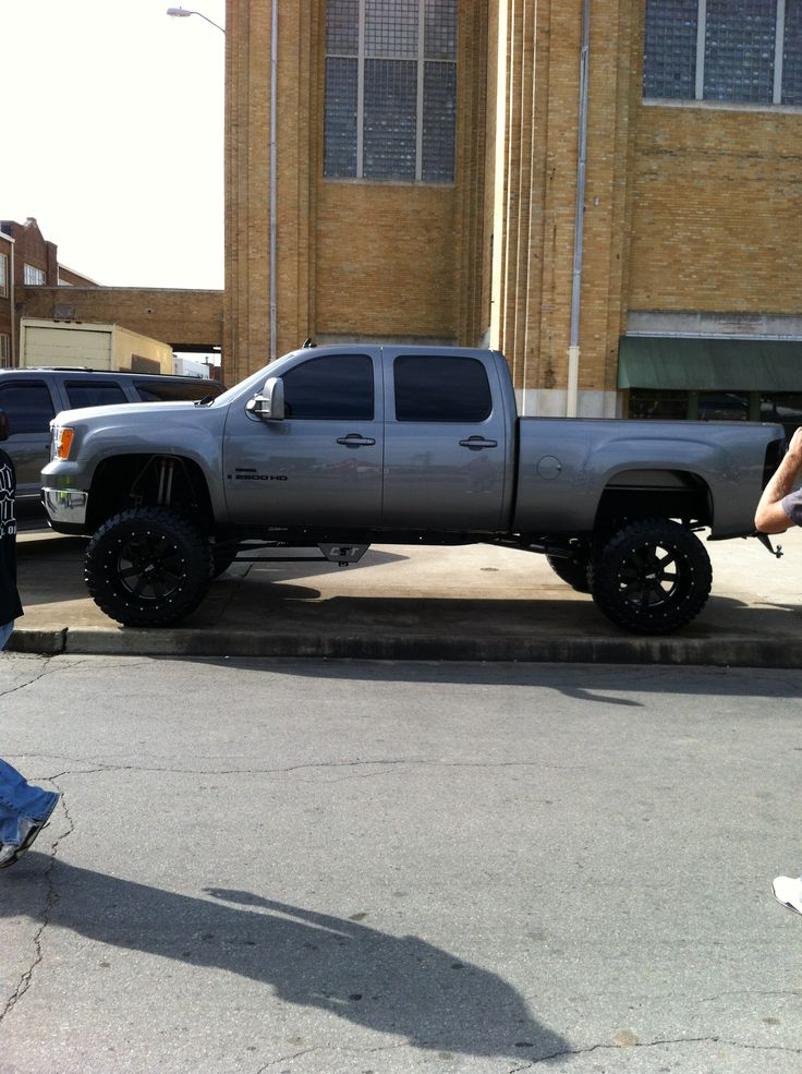 Something about a lifted truck ;)