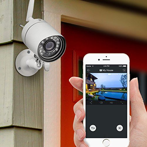 2 Wireless Camera System A budget friendly security solution for your home and organisation. This cordless house security cam kit can meet all your have to look