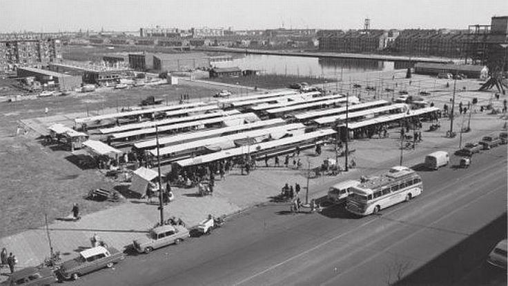 Amsterdam, jaren 50. Plein 40-45 Slotermeer