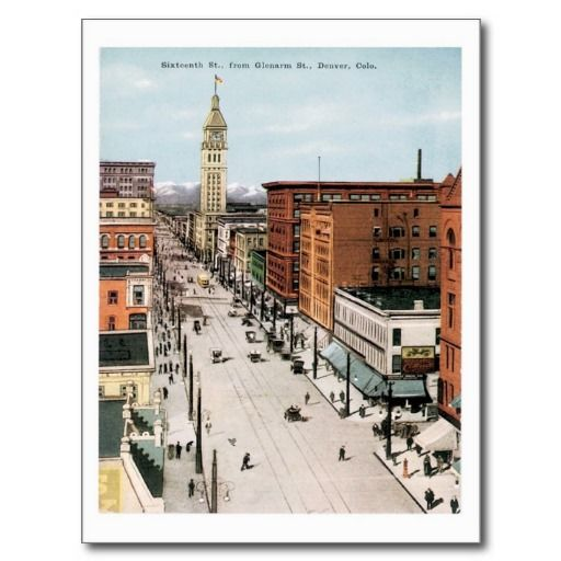 American city postcards
