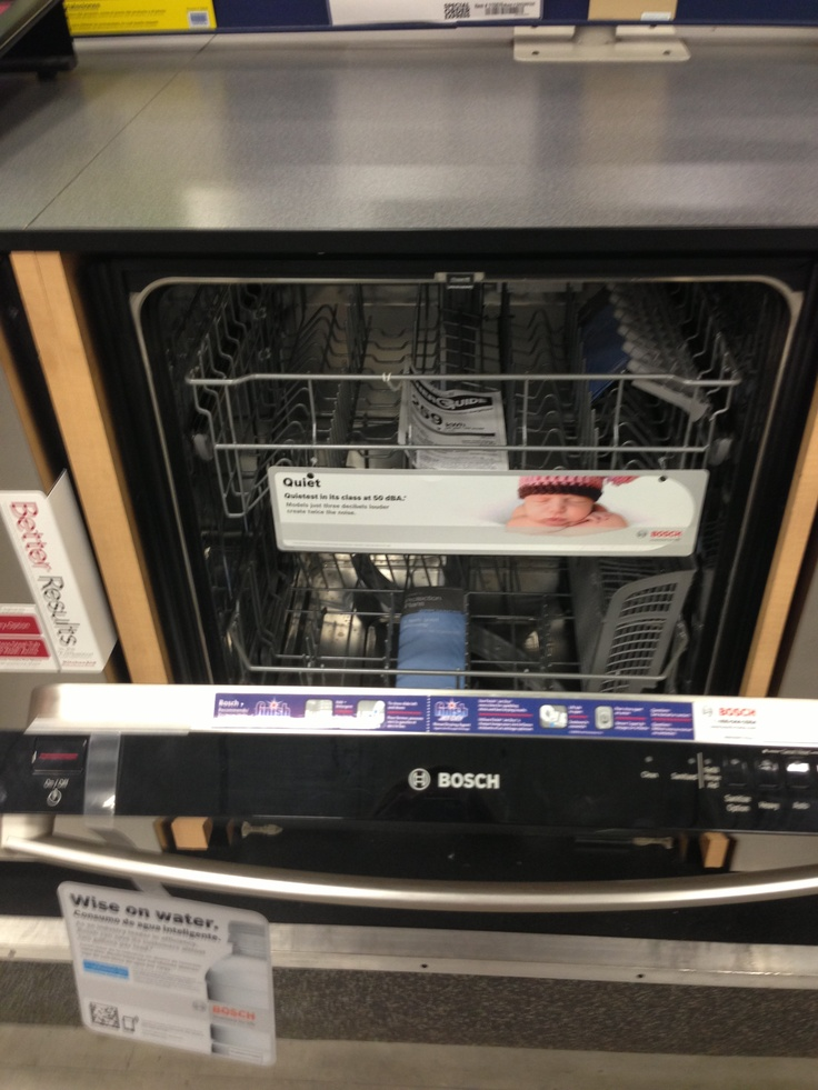 Elegant Good idea Put a baby picture inside a dishwasher
