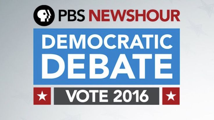How to Stream PBS' Democratic Debate Tonight Online, No Cable Required.  If you'll be on the go, want to watch on your computer, or on a set-top box, here are some mobile and internet-only ways to watch:      Stream live at PBS NewsHour at YouTube via the PBS NewsHour apps for iOS and for Android       Stream live at CNN.com via the CNN apps for iOS, for Android, and for Windows Phone #debate #watchdebates #2016elections #democraticprimary  #ClintonvsSanders