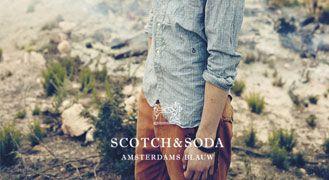 Scotch & Soda Presents the Amsterdams Blauw SS13 Denim Collection
