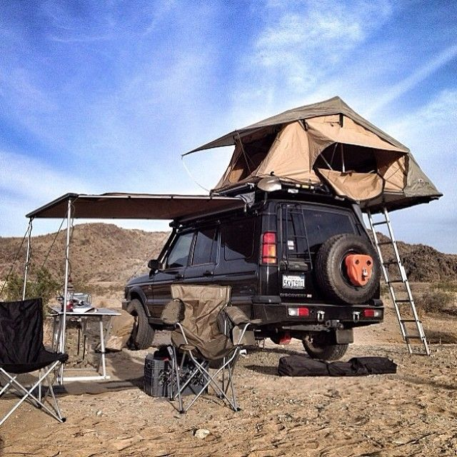 Range Rover Discovery Camping Overland Trailers Roof Top
