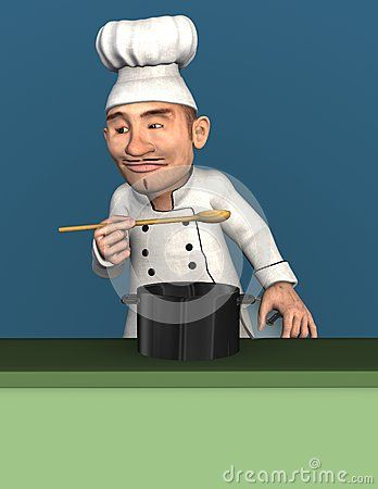 Impressed Chef - Download From Over 28 Million High Quality Stock Photos, Images, Vectors. Sign up for FREE today. Image: 48075480