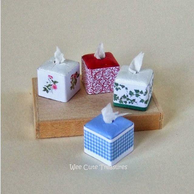 Mini Tissue Box Tutorial