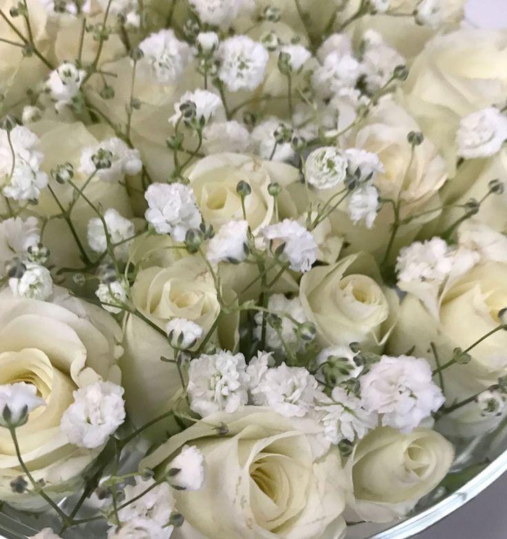 Weisse Rosen | Weiße rosen, Rosen, Deko blumen