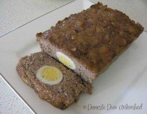 Domestic Diva: Glazed Meatloaf