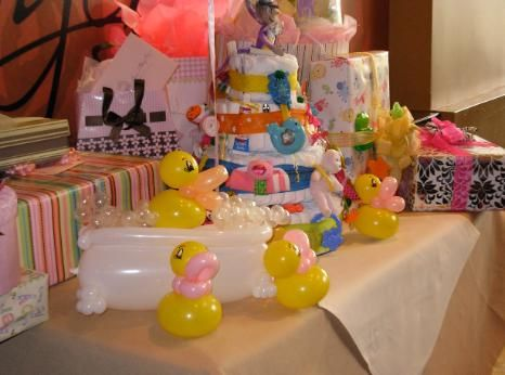 Image Detail for - rubber duck baby shower centerpiece i attended a baby shower last ...