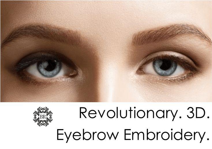 3D Eyebrow Tattoo (Eyebrow Embroidery)A revolutionary new semi-permanent makeup…
