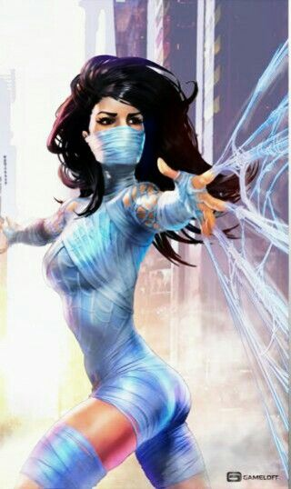 Silk - More at https://pinterest.com/supergirlsart/ #marvel #comics